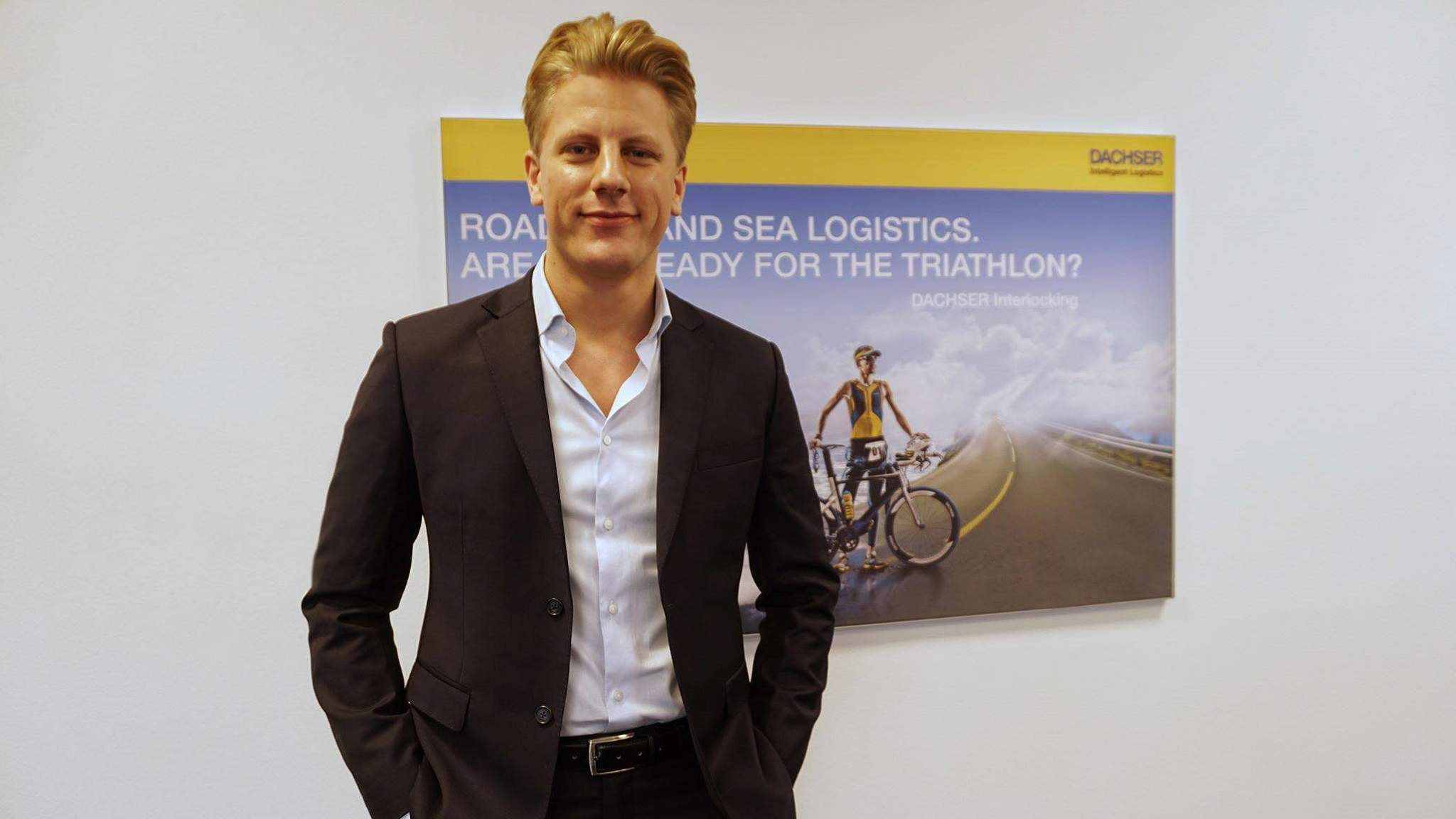 Niclas Andersson, Sales Executive hos DACHSER Swedens kontor för Air & Sea Logistics
